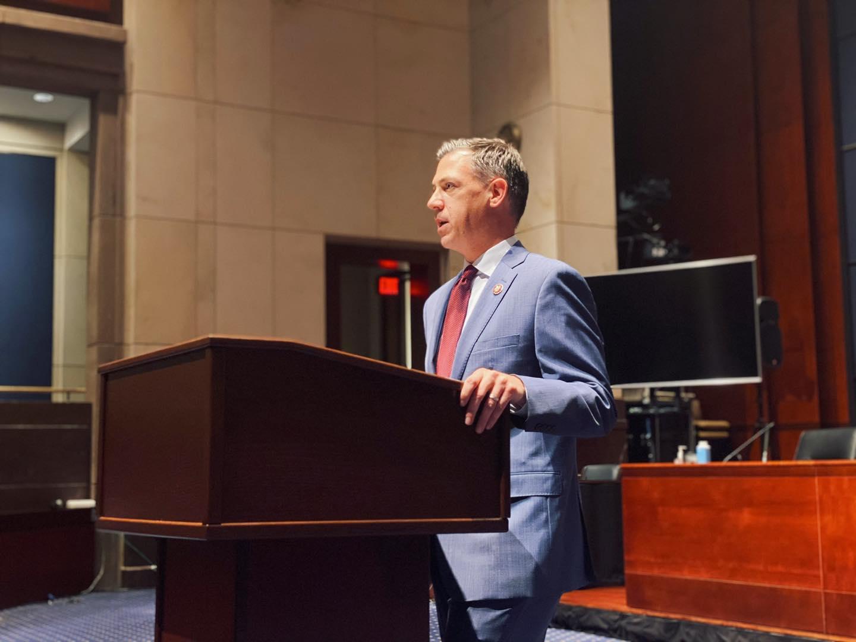 Americký kongresman Jim Banks