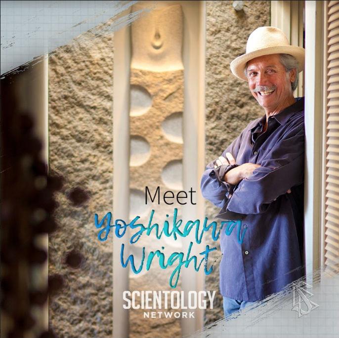 scientologie umělci Yoshikawa Wright