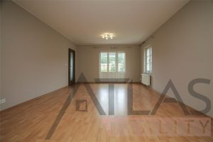 "Living Room - Rent of 4 BD family house type ""C"" Prague 6 - Nebusice Mala Sarka"