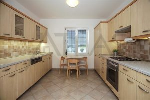 "Kitchen - Rent of 3 BD with basement, family house type ""A"" Prague 6 - Nebusice Mala Sarka"