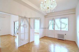 Pronájem bytu 3+1+hala, 110 m2, ve vile, Praha 6, Hanspaulka, ulice Na Míčance