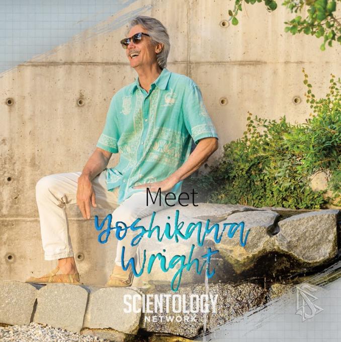 Scientologie umělci sochař Yoshikawa Wright