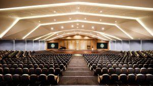 Scientologická církev Dublin společenský sál pro 1000 lidí