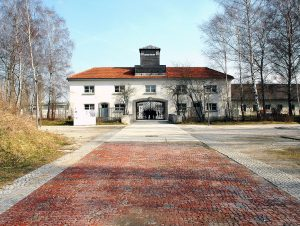Vchod do Koncentračního tábora Dachau