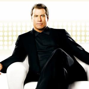 John Travolta americký herec který se hlásí k scientologii