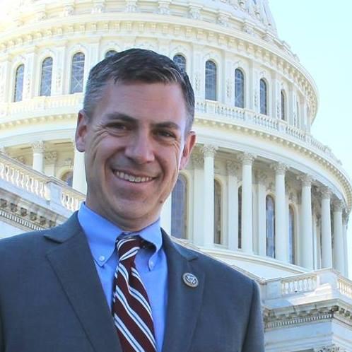 Republikán a kongresman Jim Banks z Indiany