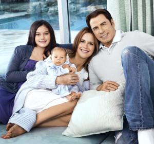 John Travolta a Kelly Preston – američtí herci a Scientologové