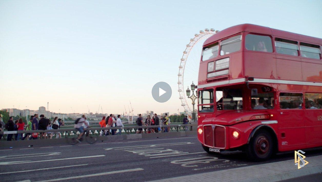 cílové místo Londýn