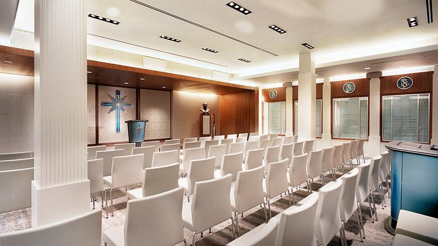 Kaple pro společenská shromáždění Scientologická církev Los Angeles