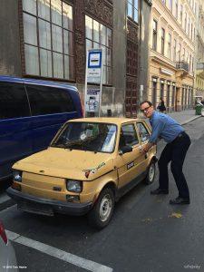 Tom Hanks a polský Maluch